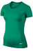 Nike Pro Hypercool SS Shirt Women teal charge/white